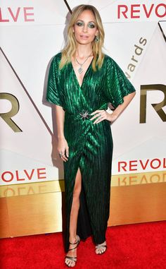 Nicole Richie from Revolve Awards 2017 Red Carpet Arrivals