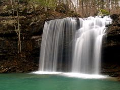 Big Devil's Fork of Twin Falls, in the Richland Creek Wilderness Area of the Ozark National Forest in Arkansas. Beautiful World, Beautiful Places, Places To Travel, Places To Go, Ozark National Forest, Pool Waterfall, Twin Falls, Road Trip Destinations, Outdoor Photos