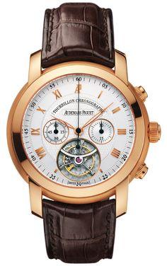 Jules Audemars Automatic Chronograph Rose Gold Men's Watch – Goldia.com