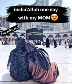 One day with my mom and dad Mom And Dad Quotes, Mothers Love Quotes, Muslim Love Quotes, Love In Islam, Beautiful Islamic Quotes, Islamic Inspirational Quotes, Ali Quotes, Quran Quotes, Girly Quotes