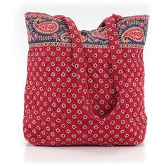 Pre-owned Vera Bradley Tote: Red Women's Bags (1.370 RUB) ❤ liked on Polyvore featuring bags, handbags, tote bags, red, purse tote, vera bradley tote, vera bradley tote bags, handbags purses and red tote handbags