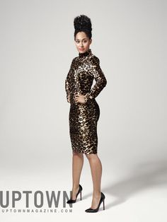 Tracee Ellis Ross covers UPTOWN Magazine, February/March 2012 issue.