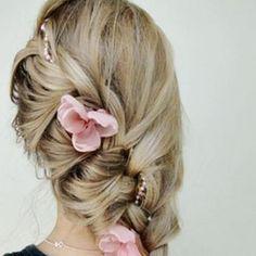 pink flowers #brayola