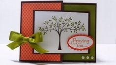 Stampin' Up Thoughts and Prayers  Joy Fold Card 1