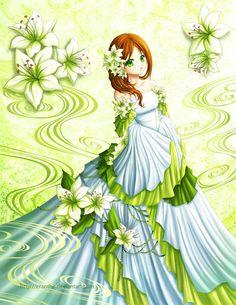 Lily Flower by Eranthe on deviantART