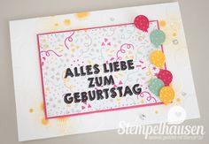 Geburtstagskarte Meine Party Wassermelone #GDP023