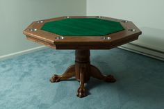Plans for a DIY poker table. Maybe I can turn this into a gaming table.