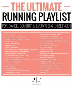 The Ultimate Running Playlist - 40 Songs - Pop, Dance, Country Everything In-between - Life And Shape