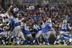 The Sports Xchange Detroit Lions kicker Matt Prater hit a 76-yard field goal in Pro Bowl practice in Orlando, Fla., this week.