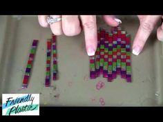 How to create a mosaic pattern with Friendly Plastic