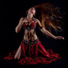 Red #bellydance costume
