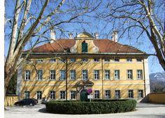 Schloss Frohnburg, Salzburg. Used as front of von Trapp house