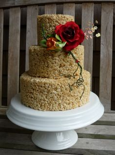 Cute Wedding Cake Prices Thick Wedding Cakes With Cupcakes Round Wedding Cake Frosting Wood Wedding Cake Young A Wedding Cake ColouredSafeway Wedding Cakes Marshmallow Krispies Wedding Cake | Rice Krispies Wedding Cake. 3 ..