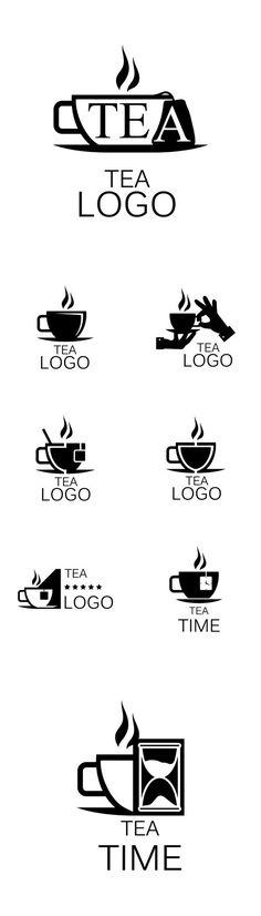 Vectors - Tea Logos