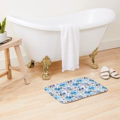 'What the Dickens : Little Dorrit' Bath Mat by MarbleCloud Photo Vintage, Style Vintage, Retro Style, Retro Vintage, Vegeta Ssj Blue, Little Dorrit, Blue Bath Mat, Color Violeta, Mandala