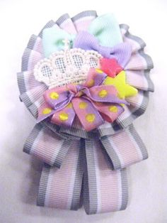 stunning rosette with crown