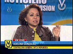 Entrevista Venevisión: Adelina González, contralora general de la República