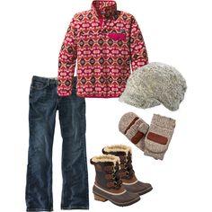Cute Fall Outdoor Fashion