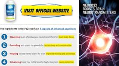 {Amazing} Neuro3X Brain Booster Trial Side Effects, Price & Real Reviews