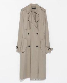 Long Trenchcoat / Zara / Friday Favorites