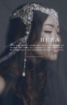 "The Morning Star — Mythology Meme: 6 Olympians Hera ""No. World Mythology, Greek And Roman Mythology, Greek Gods And Goddesses, Hera Goddess, Goddess Names, Wicca, Pagan, Female Character Names, Female Names"