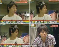 Sakurai Sho 櫻井 翔 from Himitsu no Arashi - Sho-chan is princess XD