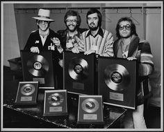 Elton John with Bernie Taupin