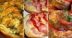 21 obrázkových triků s těstem, díky nimž bude i pečení zábavou Sweet Desserts, Bread Baking, Bruschetta, Mashed Potatoes, Main Dishes, Sandwiches, Toast, Food And Drink, Appetizers