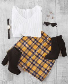 44 Fall Outfits That Will Have You Excited For Cooler Weather Outfits 2019 Outfits casual Outfits for moms Outfits for school Outfits for teen girls Outfits for work Outfits with hats Outfits women Teenager Outfits, Outfits For Teens, Casual Outfits, Sweater Outfits, College Outfits, Office Outfits, Casual Wear, Teen Fashion, Korean Fashion