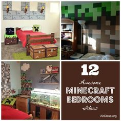 12 Awesome Minecraft Bedrooms Ideas   Check out http://minecraftfamily.com/ for cool new Minecraft stuff!