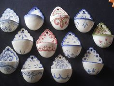 Ceramic Pottery, Ceramic Art, Water Font, Fire Art, Visual Diary, Wall Pockets, Earthenware, Diy And Crafts, Polymer Clay