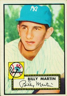 Billy Martin 1952 Infield - New York Yankees  Card Number: 175  Series: Topps Series 1