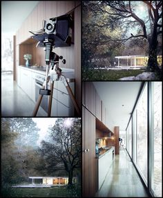CGarchitect - Professional 3D Architectural Visualization User Community | FARNSWOTH HOUSE