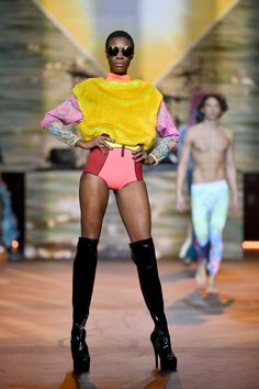 Alcatel Fashion Theatre show 'Rock The Runway' at The Clothes Show 2016