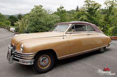 Alquiler de coche clásico Packard Super 8 convertible 1948