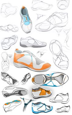 SmartFit on Industrial Design Served Industrial Design Portfolio, Industrial Design Sketch, Portfolio Design, Sketch Inspiration, Design Inspiration, Sneakers Sketch, Smart Fit, Logos Retro, Shoe Sketches