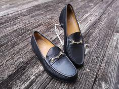 d8aaa81a576 Men s Cole Haan Black Leather Ascot Bit Horsebit Loafers Shoes   10.5 M   fashion