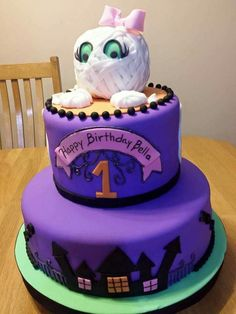 Halloween Cake Irma'scookies by  Irma Garcia