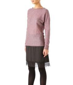 Layered-effect dress
