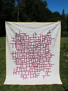 Reverse-Value Mod Mosaic Quilt | Flickr - Photo Sharing!
