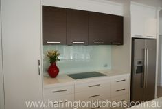 Modern laminate kitchen - Harrington Kitchens.