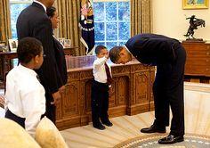 8 adorable photos of the President