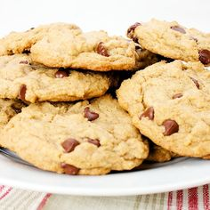 Bakery Style Chocolate Chip Cookies from Our Family Eats