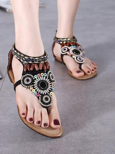 Sku Material PU Pattern Bohemian Season Spring ,Summer,Autumn Style Thick Heels Heels Color Black,Creamy Size size US Size AU size (Inch) (CM) 35 5 22 36 4 37 6 9 23 38 39 6 24 40 8 41 7 25 42 1 Minimalist Shoes, Beach Casual, Thick Heels, Clearance Shoes, Water Shoes, Maxi Dress With Sleeves, One Piece Swimwear, Flat Sandals, Bling Sandals