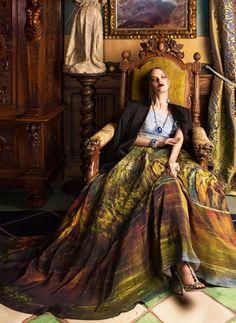 Paint Me Over или капсульная коллекция платьев-картин