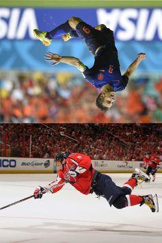 Победа над гравитацией в спорте