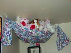 Crib Sheet To Stuffed Animal Hammock Perfect Free Way