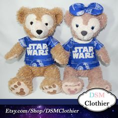 "Star Wars Rebel Spy Top for Disney's 17"" Duffy and Shellie May Plush"