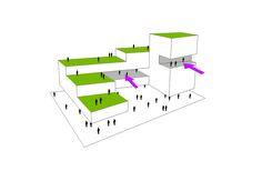 e10 copia Cubic Architecture, Architecture Collage, Concept Architecture, Residential Architecture, Site Analysis, Residential Complex, Secondary School, Diagram, Autism