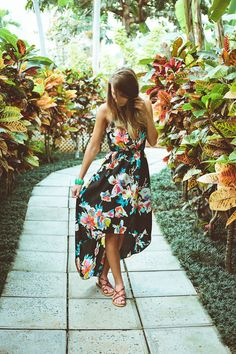 All Natural - Hawaii Outfit Hawaii Outfits, Summer Outfits, Girl Outfits, Cute Outfits, Summer Dresses, Floral Outfits, Hawaii Dress, Party Outfits, Hawaiian Themed Outfits